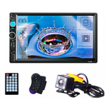 Autoestereo Mirrorlink 7010b 7 Inch Touch Mp5 Camara Reversa