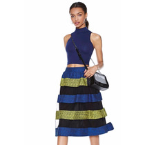Suku 40459 Bonita De Colores Falda Corte A Moda Japón $869