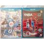 Nfl 13 + Nba 2k13 Nintendo Wii U Nuevo Sellado Originales