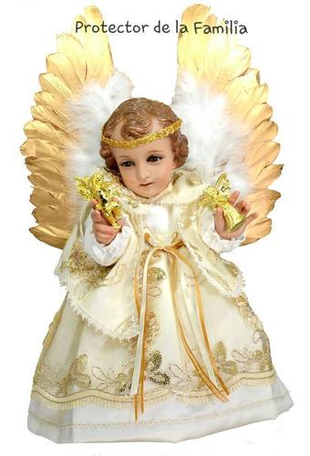 Vestidos Niño Dios ángeles Arcángeles Bordados Finos En