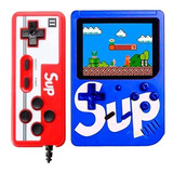 Game Box Sup Mini Consola 400 Juegos Recargable + 1 Control