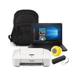 Laptop Hp 14 Bw012 Amd E2 32gb Ssd 4gb Negro Windows + Kit