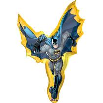 Globo Batman 6 Pzas Medida 14 Pulgadas Para Centro De Mesa