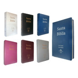 Biblia Reina Valera 1960 Mediana Letra Grande 10 Pts Colores