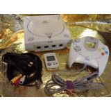 Consola Dreamcast 1 Control, Memoria Y 5 Juegos Originales