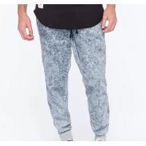 Pantalon Pijama Caballero Tipo Jeans Acid Joggers Grande