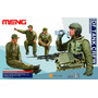 Soldados Modelo - Idf Tank Crew 1:35 Kit Meng Plástico