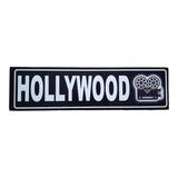 Hollywood Bar Cuadro Cartel Carretera Señalamiento Pais