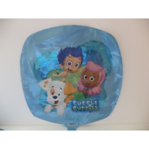 Globo Metalico 18 Pulgadas Bubble Guppies Decoracion Fiestas