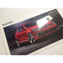Vw Golf Gti Vi 2013 Folleto Publicitario
