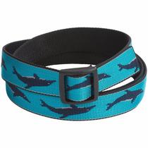 Cinturon Bison Designs Slider Buckle Web Belt - 25mm Unisex