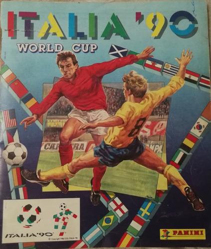 Album Panini Mundial Italia 90