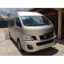 Nissan Urban Amplia Mod 2015 15 Pas Doble A/a Motor 2.5 4 C.