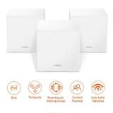 Sistema Wifi Malla Mw12 Tribanda Para Todo El Hogar 3 Pack