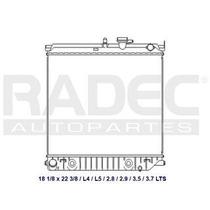 Radiador Chevrolet Colorado 2004-2005 L4/l5 2.8/ 2.9lts Aut
