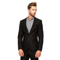 Lob - Saco De Vestir - Negro - Cssa0053