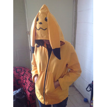 Abrigo Cosplay Pikachu Chamarra
