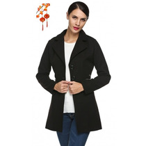 Moda Japonesa Saco Blazer Chaleco Chamarra Jack Oficina S Xl
