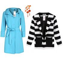 Moda Japonesa Asiatic Oriental Abrigo Saco Blazer Gabard Sxl