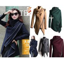 Moda Japonesa Oriental Asiatica Abrigo Saco Pon Blazer S-xl