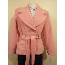 Abrigo Para Mujer Rosa Furor Talla G Y Xl Hm4