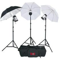 Kit De Iluminacion De Estudio Look Lk540wskit 180watts