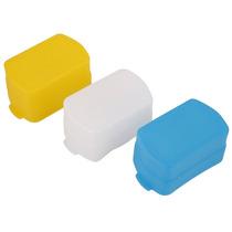 3-pack Difusores Blanco-azul-amarillo Flash Yongnuo Y Canon