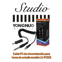 Cable Pc Sync Yongnuo Para Luz De Estudio Mod: Ls-pc635