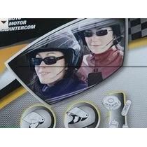 Kit Intercomunicador Para Motociclista