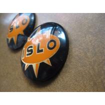 Par Emblemas Moto Antigua Islo Logo Blason