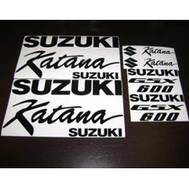 Jgo De Calcomanias Para Moto Suzuki Katana 600