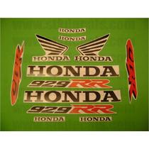 Jgo De Calcomanias Para Moto Honda Cbr 929