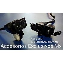 Accesorios Motocicleta Universal Cargador Usb Socket Fusible