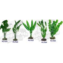 Plantas Para Acuario Artificiales De 20 Cms Omm