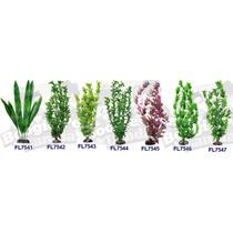 Plantas Para Acuario Artificiales De 40 Cms Omm