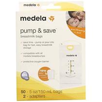 Medela Pump Y Guardar La Leche Materna Bolsas 50 Count