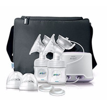 Sacaleche Extractor Electrico Doble Philips Avent Bebe