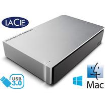 Disco Duro Mac 3tb Lacie Porsche Design P9233 Escritorio Mn4