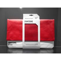 Funda Para Macbook Air 11 Pantone Roja