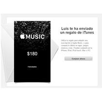 Tarjeta De Regalo Itunes $180