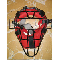 Careta Juvenil Proline Roja Catcher