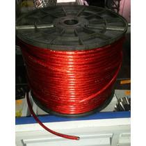 Cable De Corriente Para Bateria Calibre 10