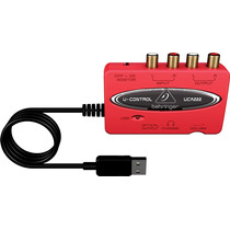 Interfase De Audio Usb Con Salida Digital Behringer Uca222