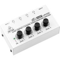 Amplificador Distribuidor Para Audífonos Behringer Ha400