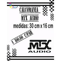 Sticker Mtx Audio (par)