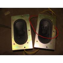 Par De Bocinas Pequeñas 4 Homs, 5 Watts, Miden 4.5cm X 8.5cm