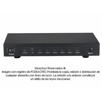 Switch Selector De Video Hdmi 5x1 Con Control Remoto 8501