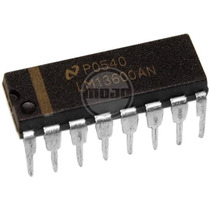 Hm4 Set De 3 Circuitos Integrados Lm13600 Dip 100% Nuevos!