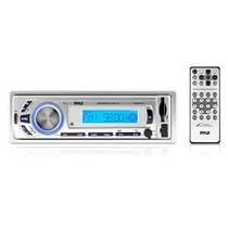 Stereo Pyle Plmr21bt Bluetooth Radio Receptor Jefe Consola D