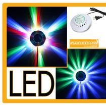 Luz Estrella Led Rgb 9w Audioritmico Lampara Ovni Hm4